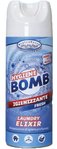 HF HYGIENE BOMB SPRAY HIGIENIZANTE 80% ALCOHOL TEJIDOS Y SUPERFICIES PERFUME FRESH 400 ml
