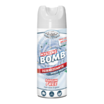 HF HYGIENE BOMB SPRAY HIGIENIZANTE 80% ALCOHOL TEJIDOS Y SUPERFICIES SIN FRAGANCIA 400 ml